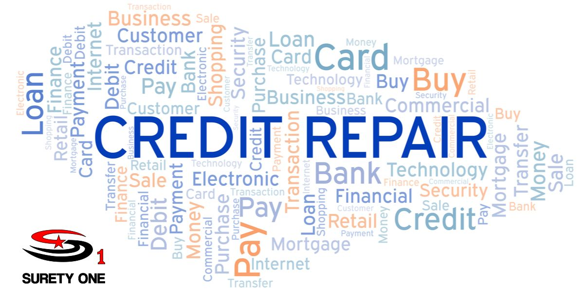 Credit Repair Organization Bond Cro Bond Credit Repair Repair