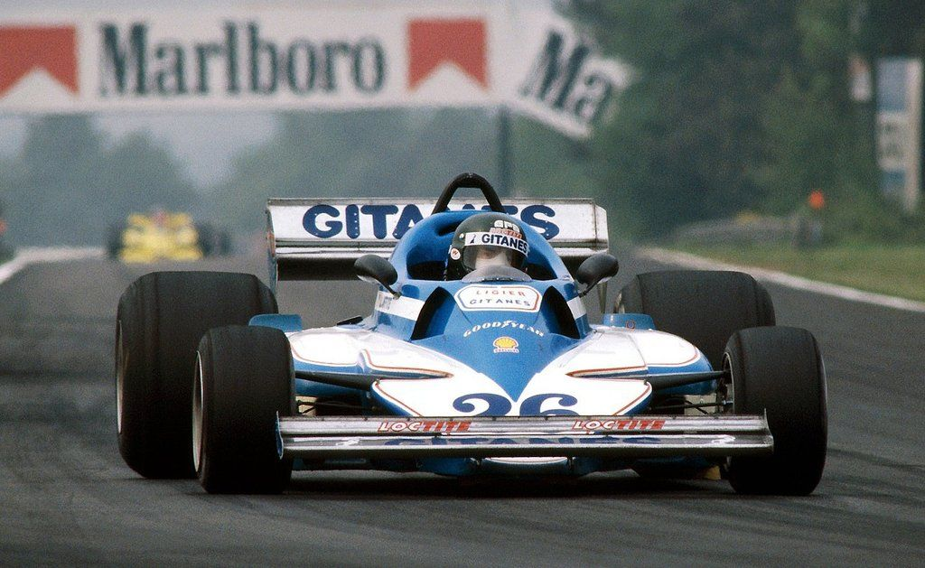 1978 GP Belgii (Jacques Laffite) Ligier JS7 - Matra