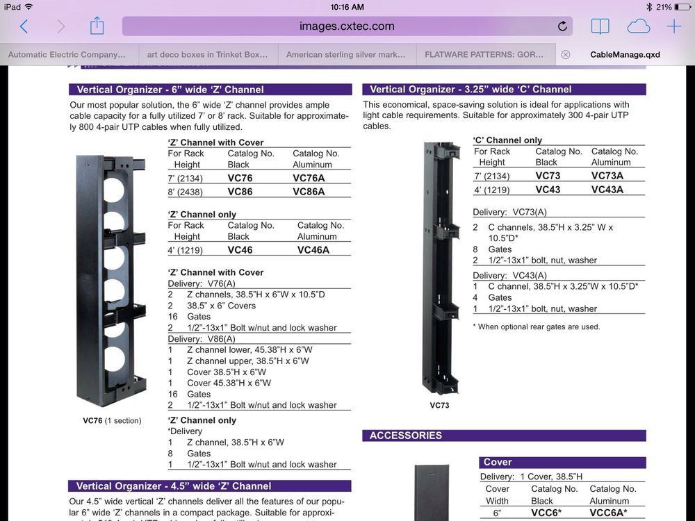 Astounding Hubbell Premise Wiring Vertical Cable Management Z Channel Vc76A Wiring Digital Resources Funapmognl