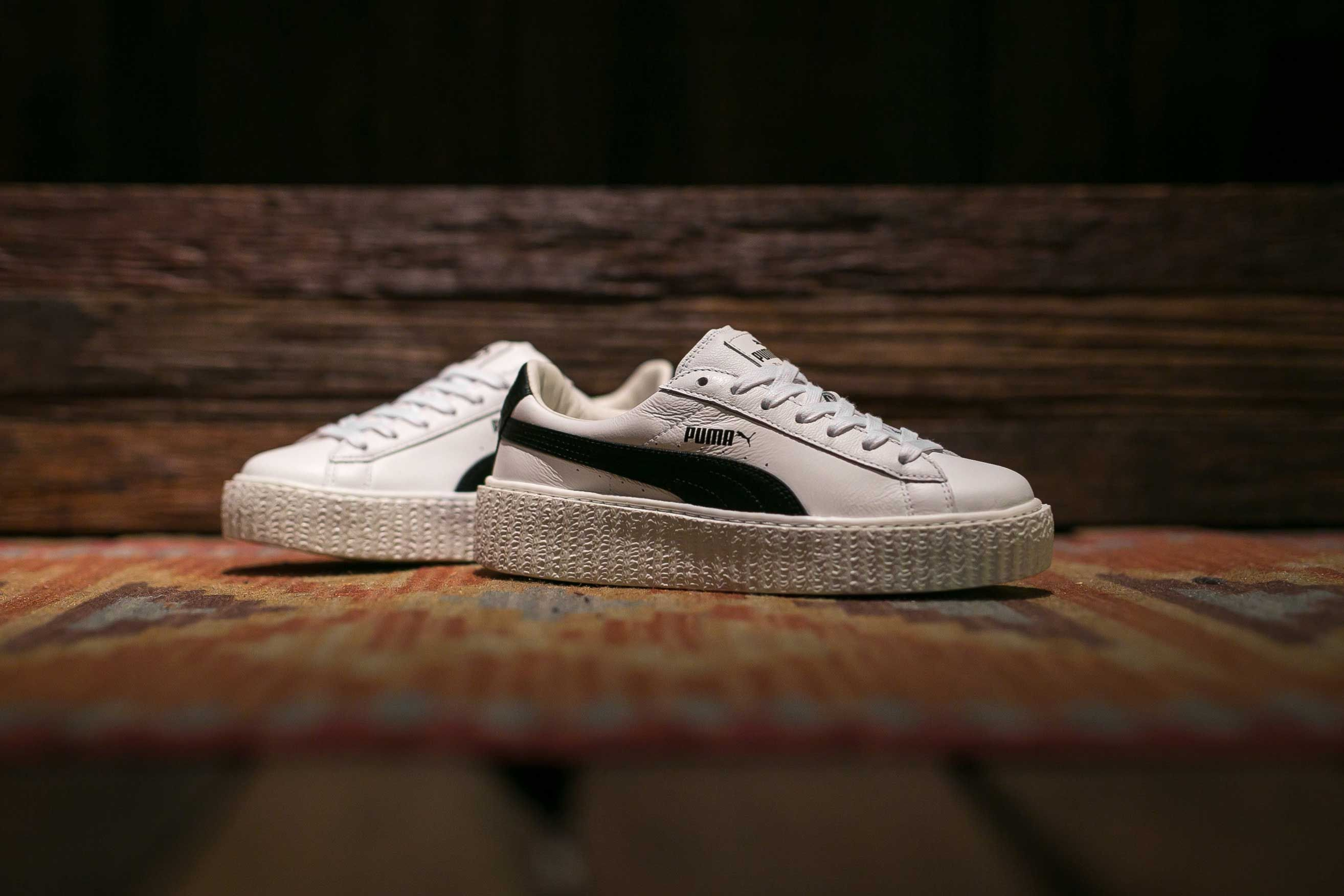 another chance 8c827 d5a73 A White Creeper, A Black Stripe. - Puma Fenty Creeper White ...