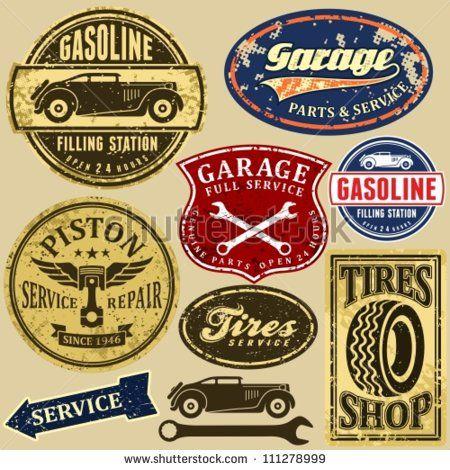 Vintage Mechanic Logo Google Search Garage Logo Mechanics Logo Retro Logos