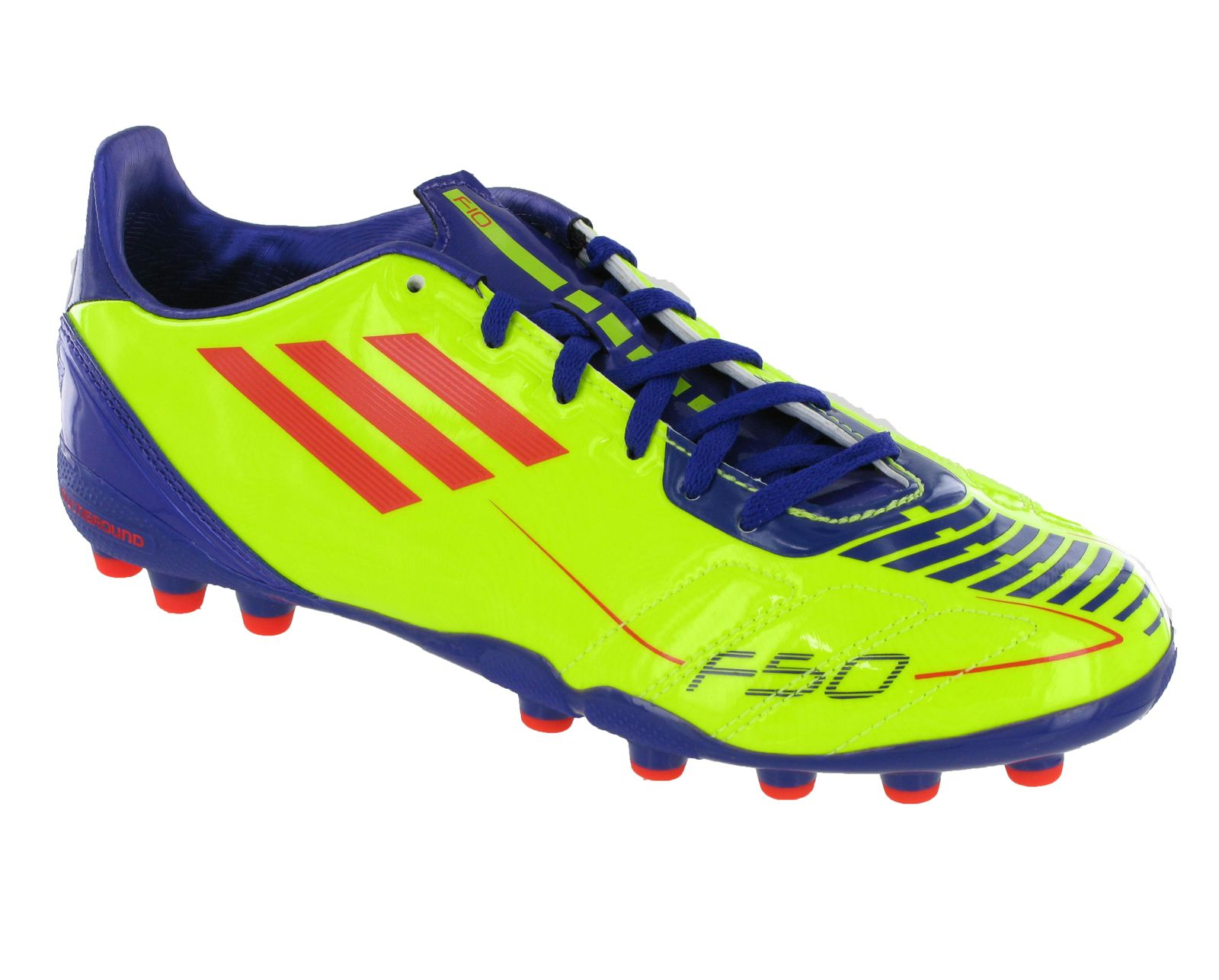 best service e38e5 20c0b New Boys Kids Adidas F10 MG J Moulded Stud Football Boots Trainers Size  10-5 UK