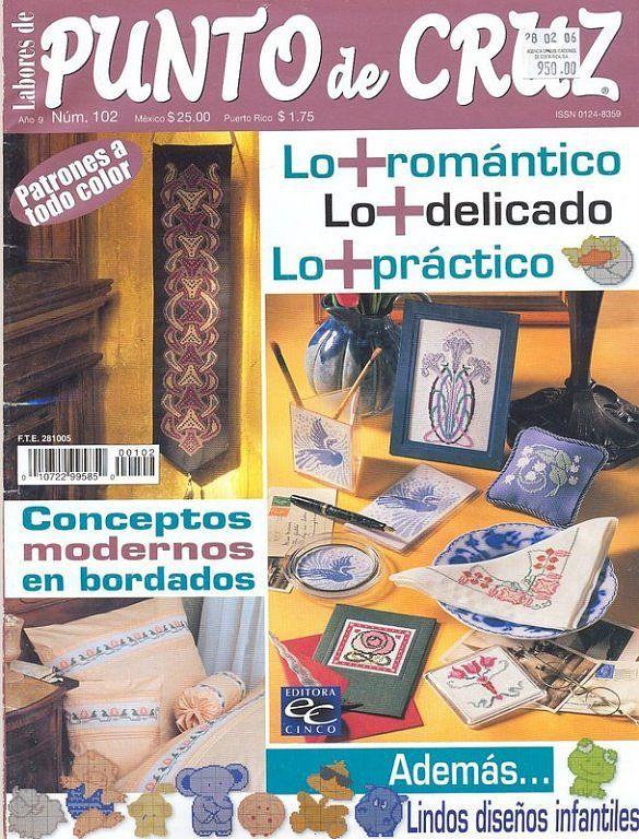 Solo Patrones Punto Cruz | Libros Punto de Cruz | Pinterest | Es ...