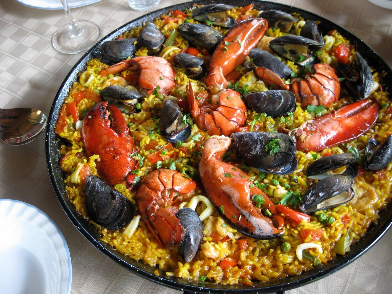 seafood recipes | Gourmet Seafood Paella Recipe | Mexican Food Recipes | gotta eat | Pinterest ...