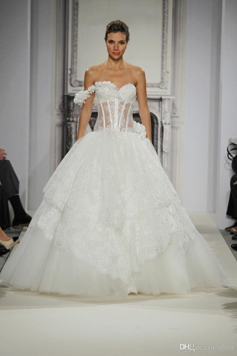 Wholesale dresses of bride buy luxury pninatornai wedding gowns
