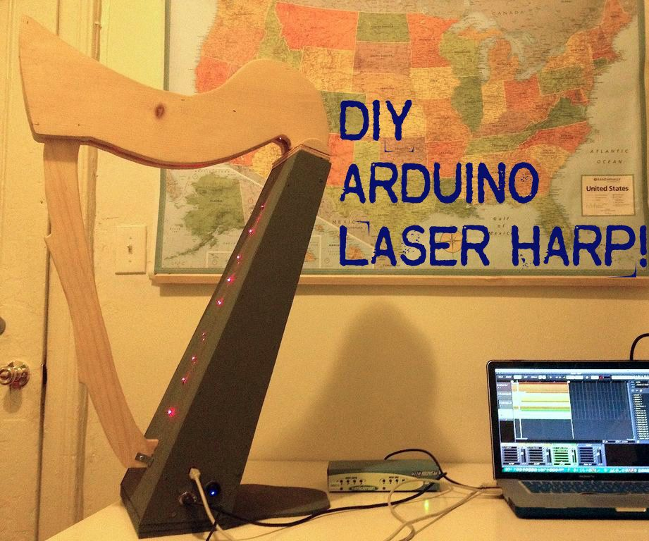 lasers are always cool. But laser beam harp!
