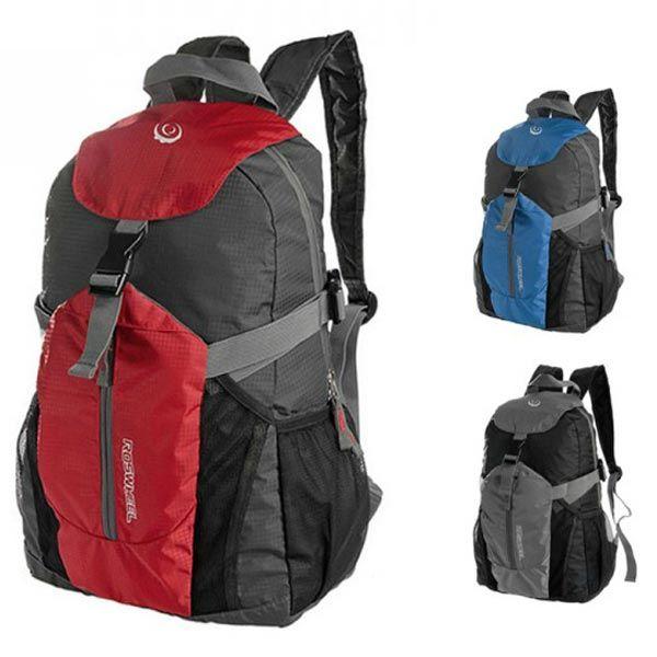 252ce614fdb9 20L Cycling Bike Foldable Backpack Shoulder Bag Sport Outdoor Hiking ...
