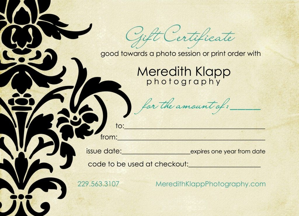 Photography gift certificatesgift certificate for free reiki photography gift certificatesgift certificate for free reiki session yadclub Images