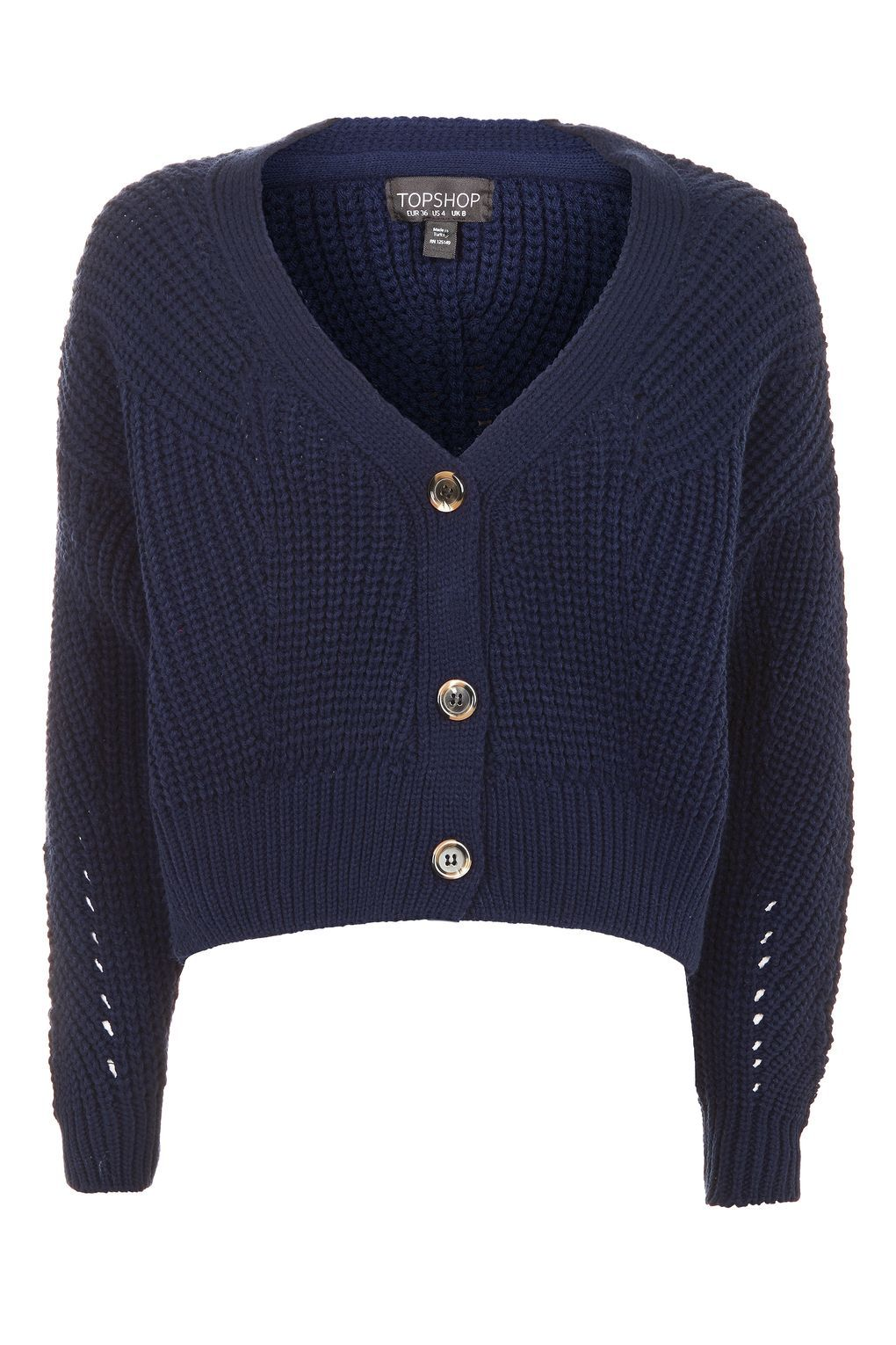Cropped Fisherman Cardigan - New In | Topshop, Knitwear and Summer