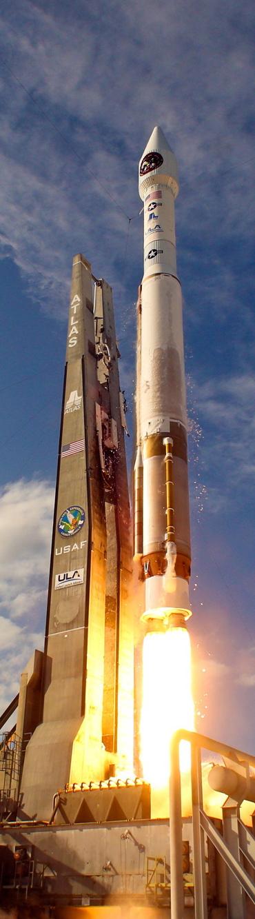 Rocket Launch - Long, Tall, Vertical Pins