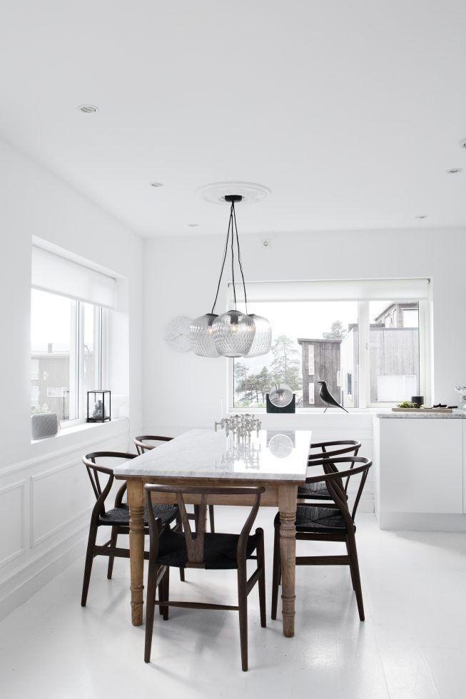 wei tisch st hle schwarz k chen dining dining room und room. Black Bedroom Furniture Sets. Home Design Ideas