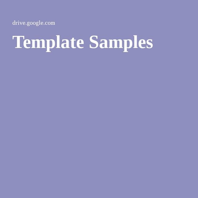 Template Samples Technology in the Classroom Pinterest