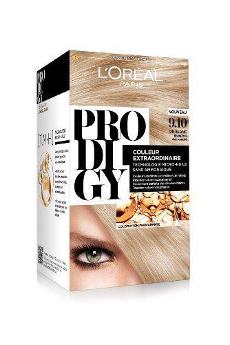 L Oreal Paris Prodigy Coloration Blond Tres Clair Cendre Sans