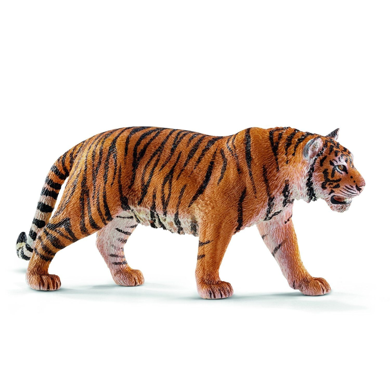 Schleich Tiger Toy Figure Pet tiger, Siberian tiger