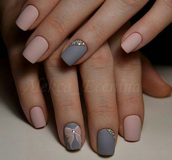 Pin by margo mironova on pinterest nail candy dream simple yet gorgeous looking winter nail art design the nail art design is made up of light pink and blue gray nail polish that perfectly complement each prinsesfo Images