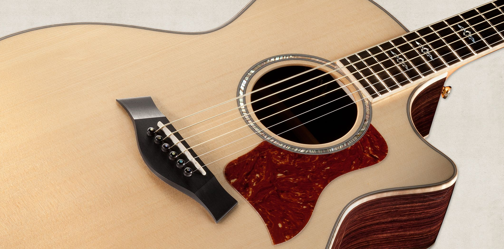 Taylor Acoustic.... You play better when you have a guitar ...