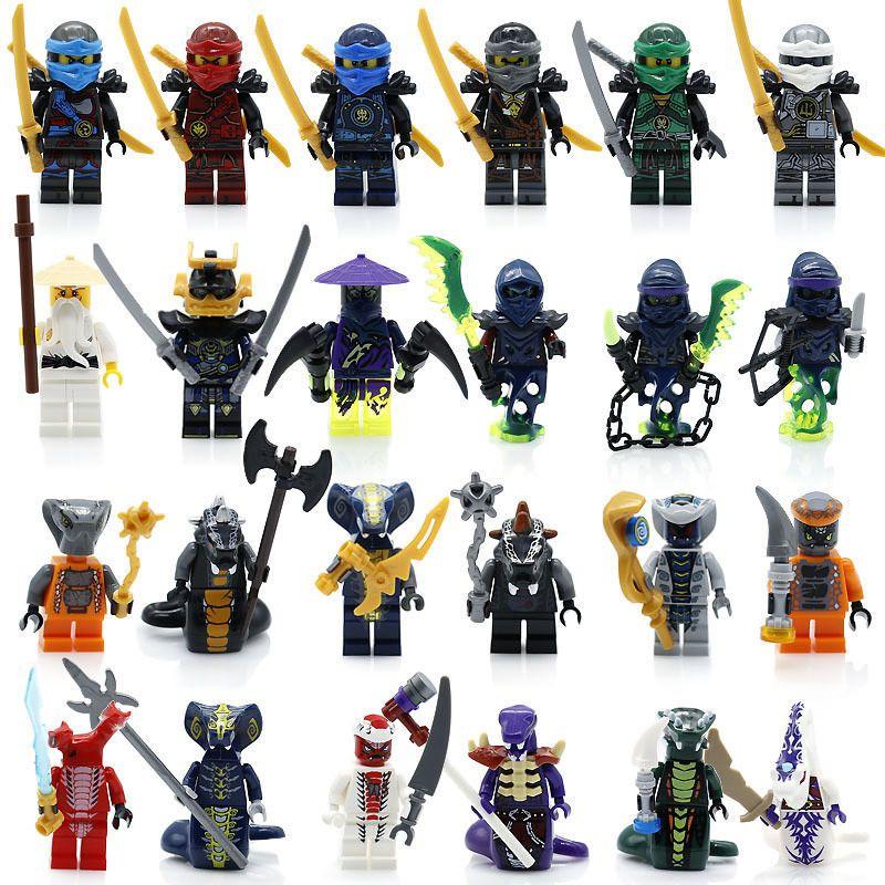 Ninjago Minifigure Lloyd Garmadon Cole 71019 Ninja Movie for Lego Minifigures