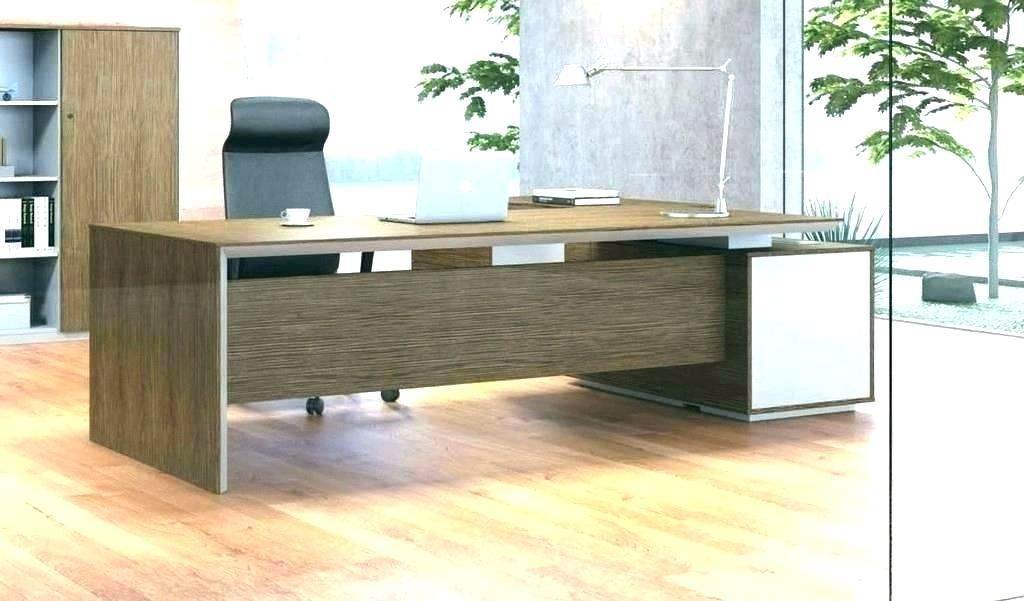 Custom Built Office Desk Shaped Nice