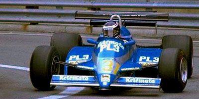 #31 Corrado Fabi (Ita) - Osella FA1D (Ford Cosworth V8) non qualified Osella Squadra Corse