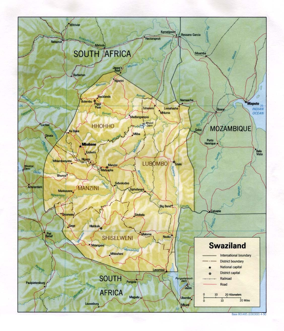 Swaziland calibrated on 19th March 2015 | Global re-calibration with ...