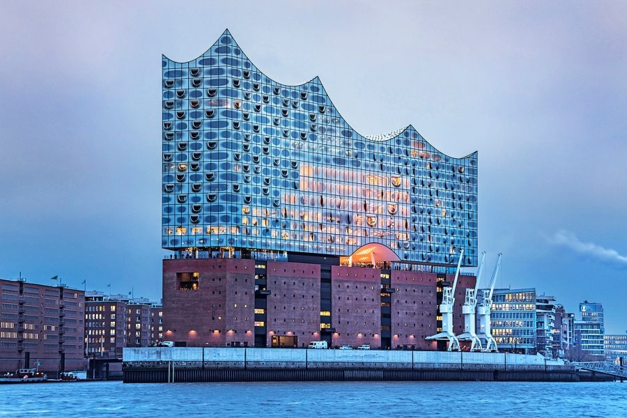 How A Building In Hamburg Is Transforming The City Concert Hall German Architecture Iconic Buildings
