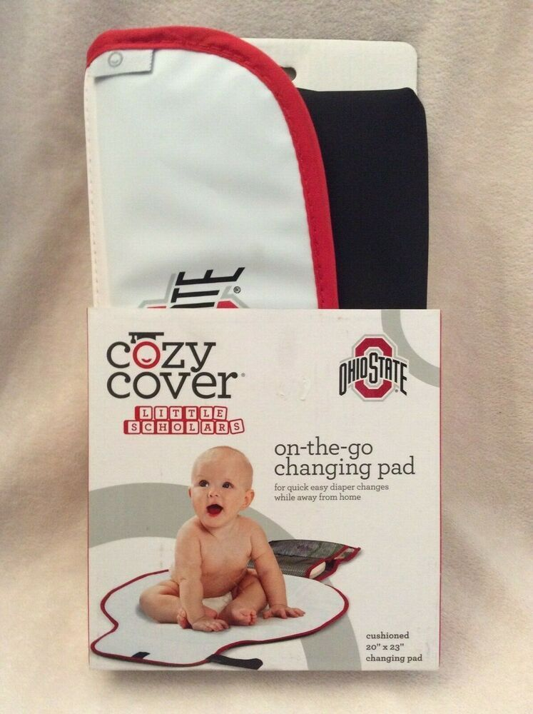 Ohio State Buckeyes Baby Changing Pad ~ NIP ~ On the Go #OhioStateBuckeyes #ohiostatebuckeyes Ohio State Buckeyes Baby Changing Pad ~ NIP ~ On the Go #OhioStateBuckeyes