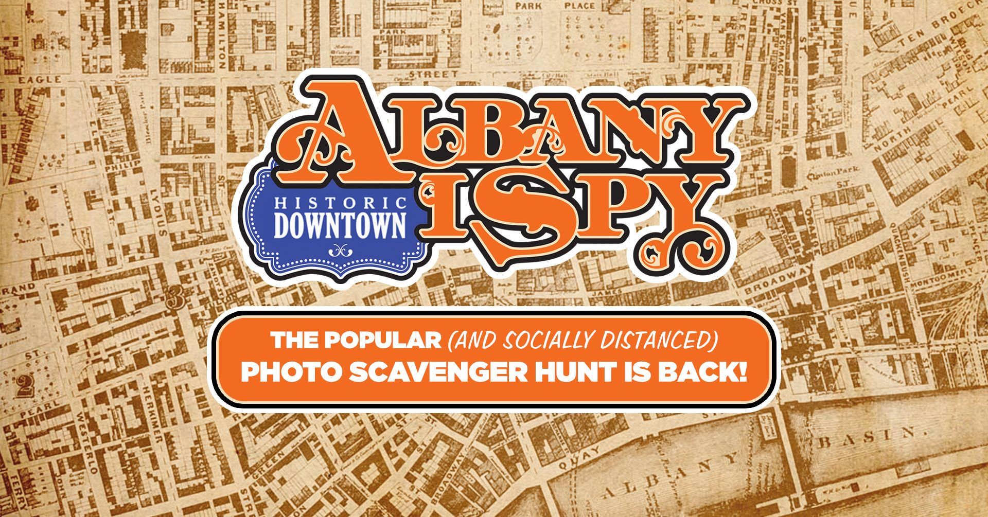 Go on Albany I Spy Scavenger Hunt with these 12 Clues in