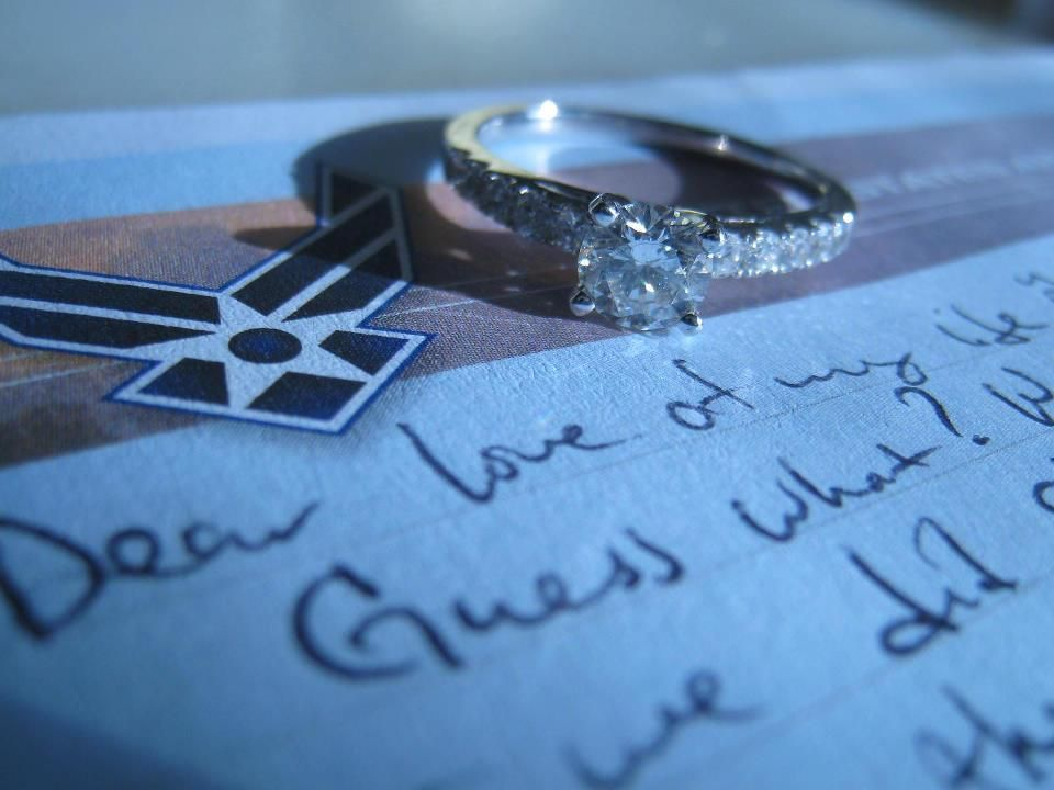 I would LOVE to do this with my grandmother's wedding ring and one of my grandpa's letters from WWII.