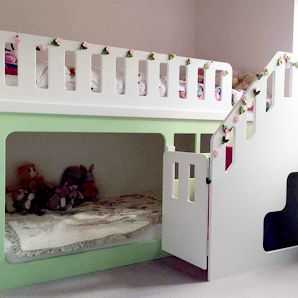 Kids Funtime Beds Product £520 119 x 137cm 120cm high