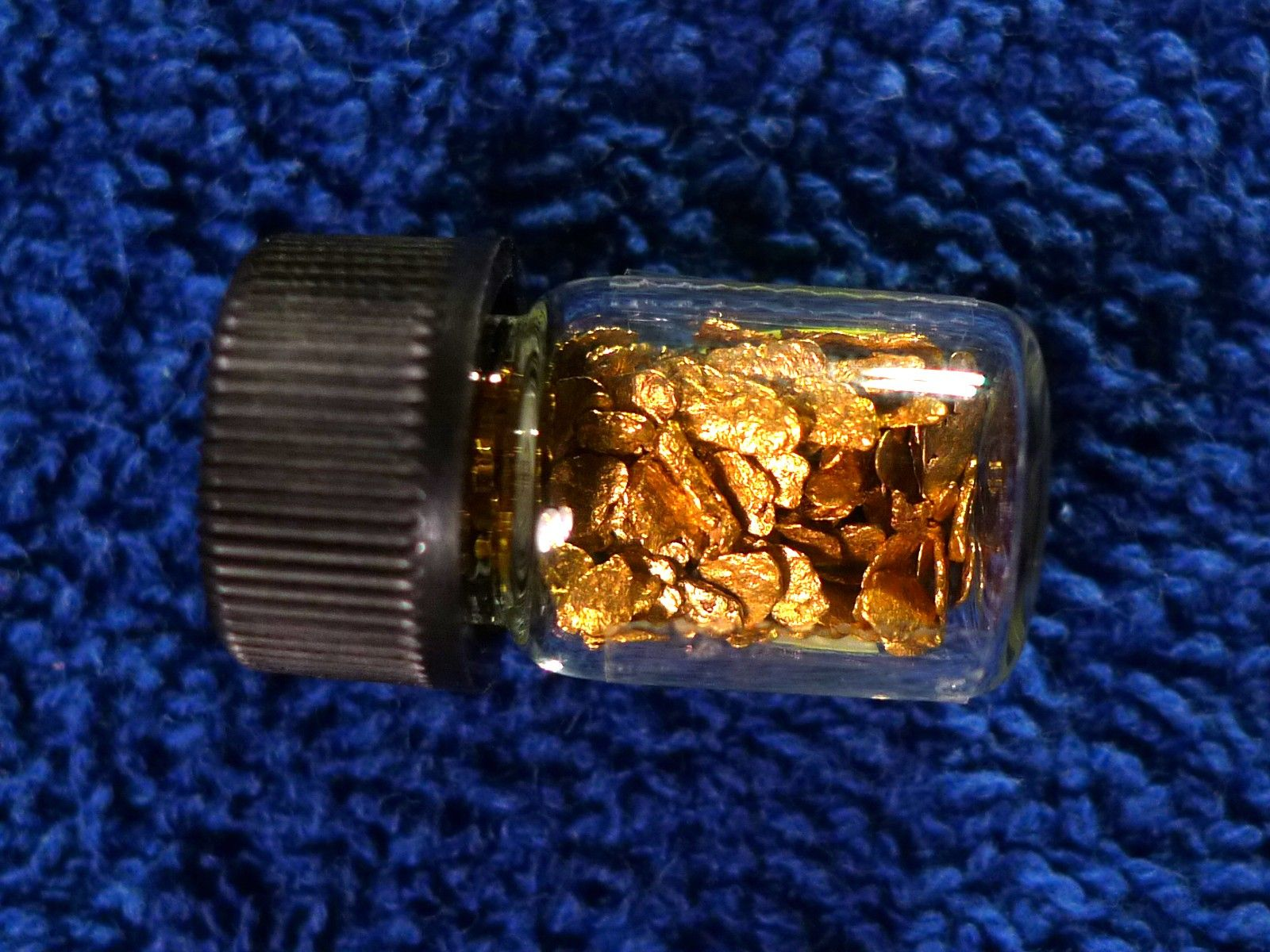 Alaskan Natural Gold Placer Nuggets 1 4 Troy Ounce 5 01