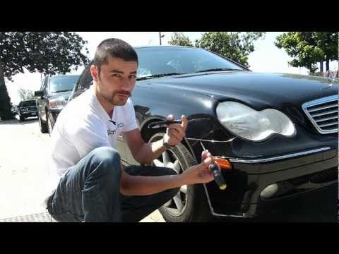 Mercedes Benz C-Class W203 Side Marker Install - Stealth Auto Tech Tips - YouTube