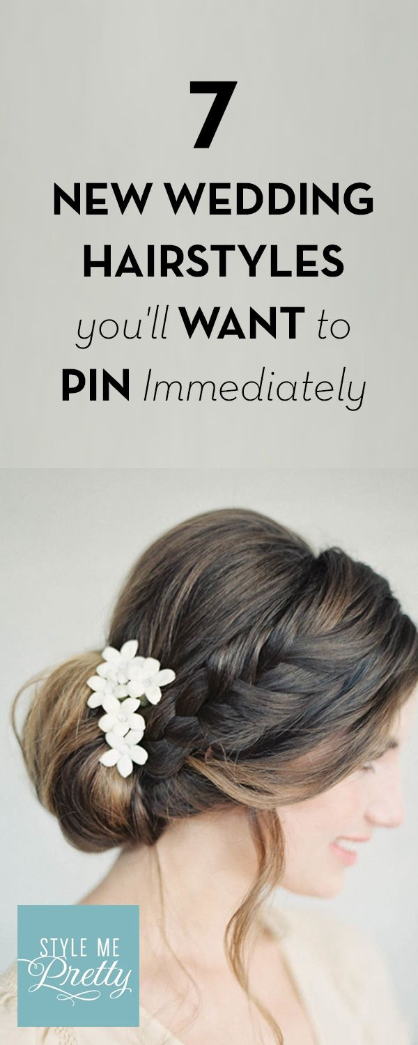 7 New Wedding Hairstyles You\'ll Want to Pin Immediately | Weddings ...