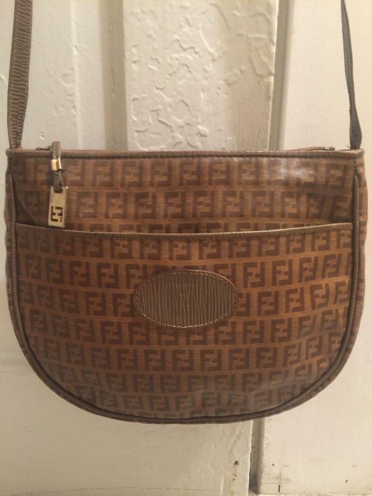 Fendi Vintage Small Crossbody Bag  fashion  clothing  shoes  accessories   womensbagshandbags (ebay link) a19c22a61fa07