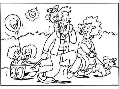 La Familia Paseo Art Fictional Characters Comics