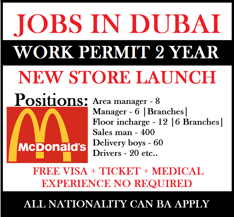 Jobs In Mcdonald S 2020 In 2020 How To Apply Area Manager Job