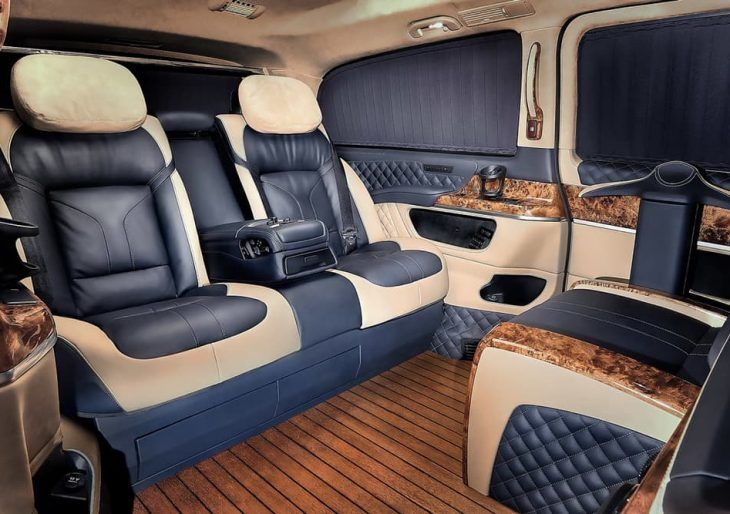 Redline Doubles Down on Luxury Styling with These Mercedes V