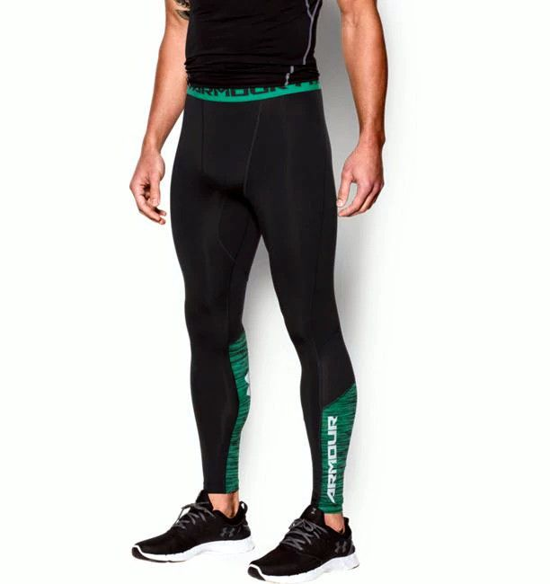 f7769c9e1fd8c UNDER ARMOUR MENS HEATGEAR COOLSWITCH COMPRESSION RUNNING LEGGINGS  1271331-016 #Underarmour #BaseLayers