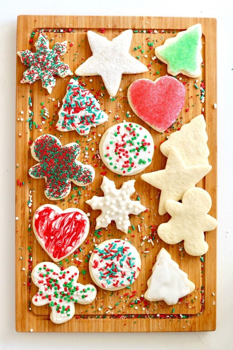 Easy No Chill Cut Out Sugar Cookies Recipe Christmas Sugar