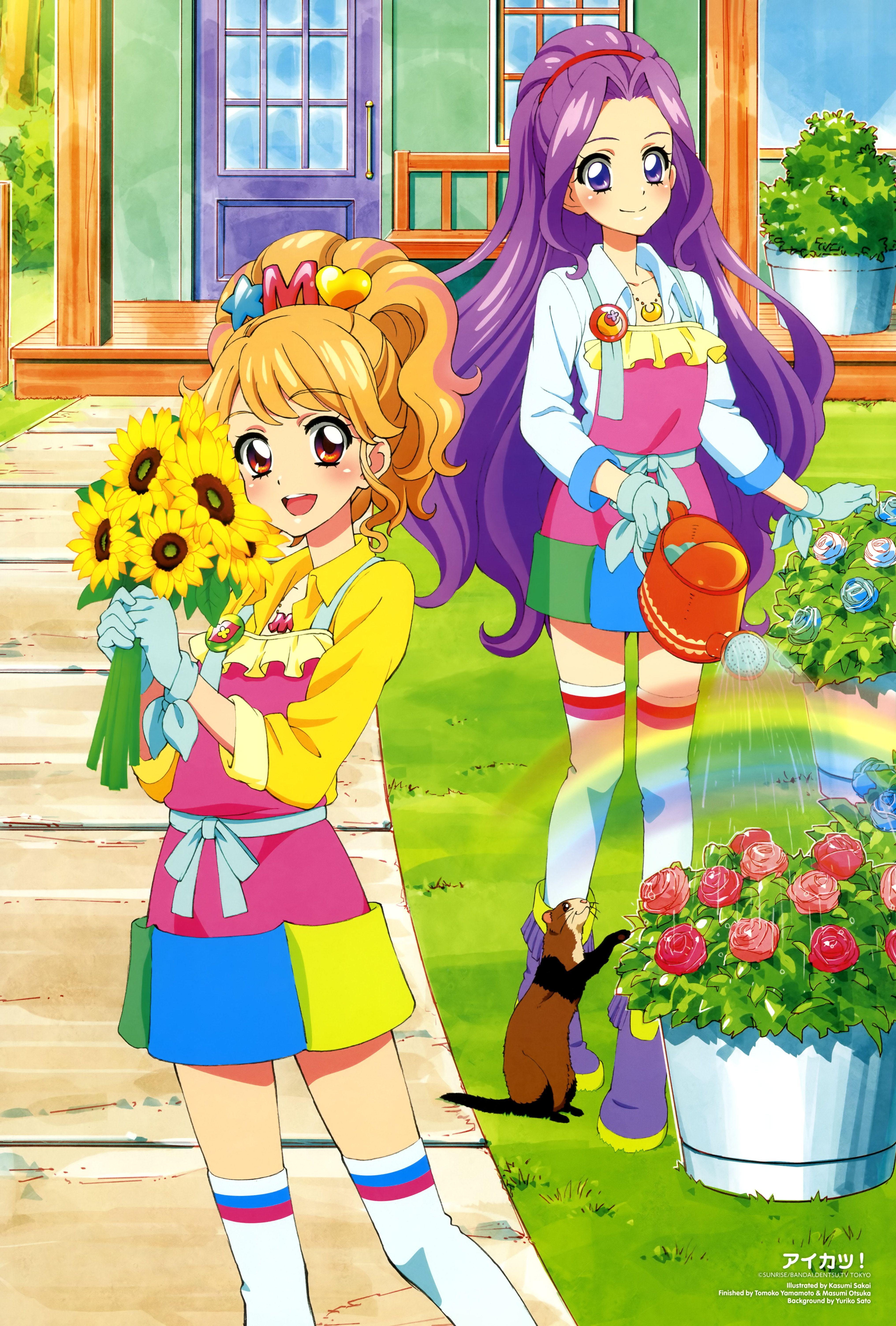 Aikatsu! Ichigo and Akari | Aikatsu! | Pinterest | Anime, Anime ...
