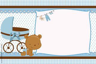 Invitaciones Gratis Para Baby Shower Plantillas De