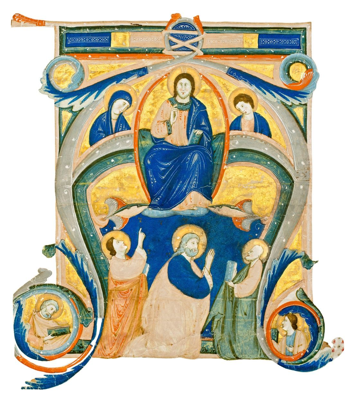 Christ in Majesty Medieval books, Artwork, Christ