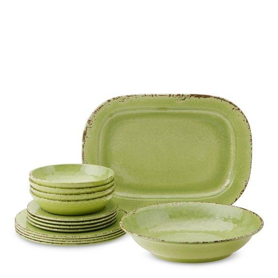 Rustic Outdoor Melamine Dinnerware Collection In 2020 Rustic Dinnerware Melamine Dinnerware Sets Melamine Dinnerware