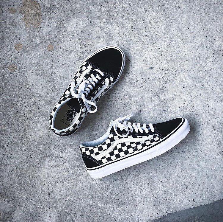 Vans old skool, Vans, Vans checkerboard