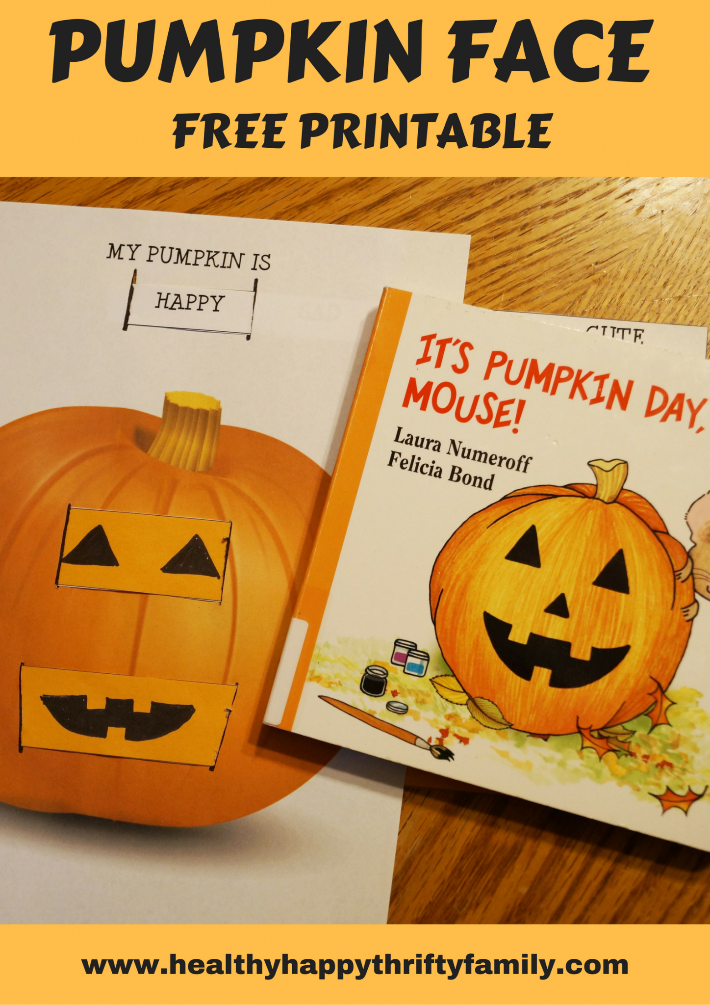 Pumpkin face printable free printable and activities