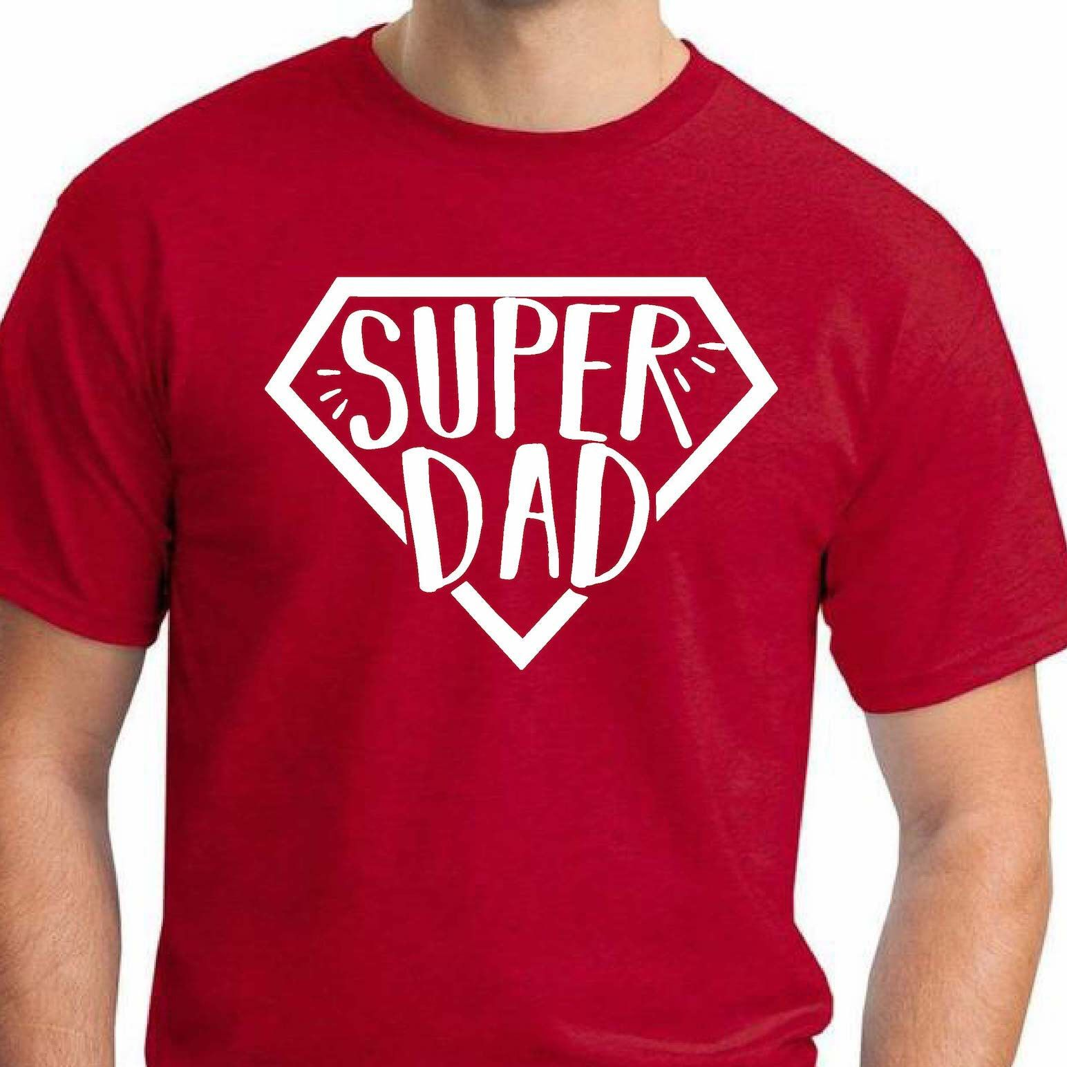682b41bb Fathers Day Super Dad T-Shirt|Fathers Day Gift|Superhero T-shirt ...