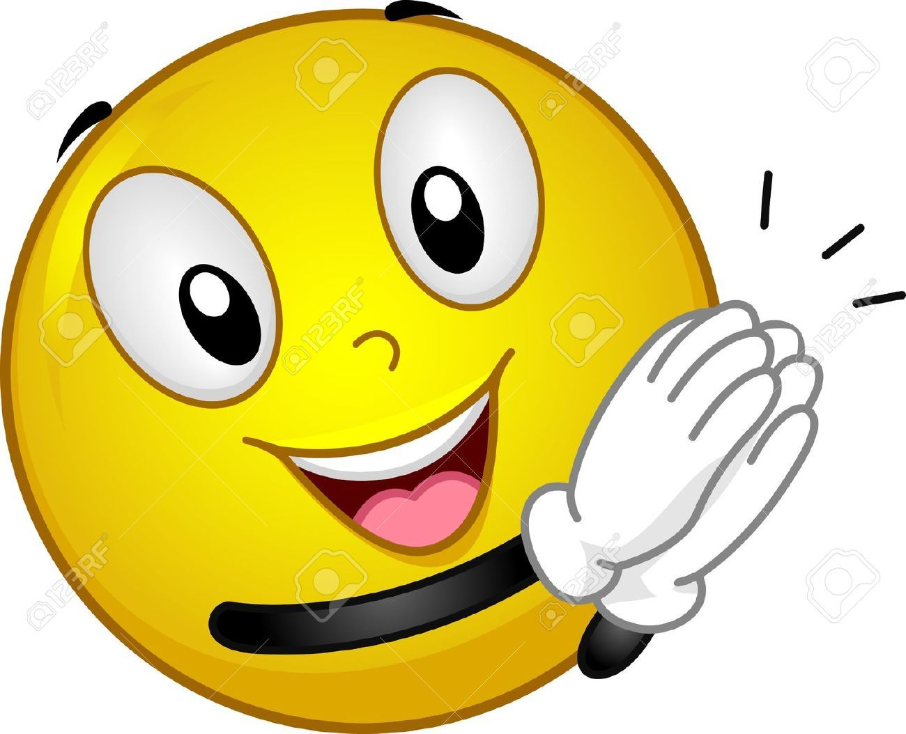 Clapping Images Stock Pictures Royalty Free Clapping Photos And Stock Photography Funny Emoticons Emoticon Smiley