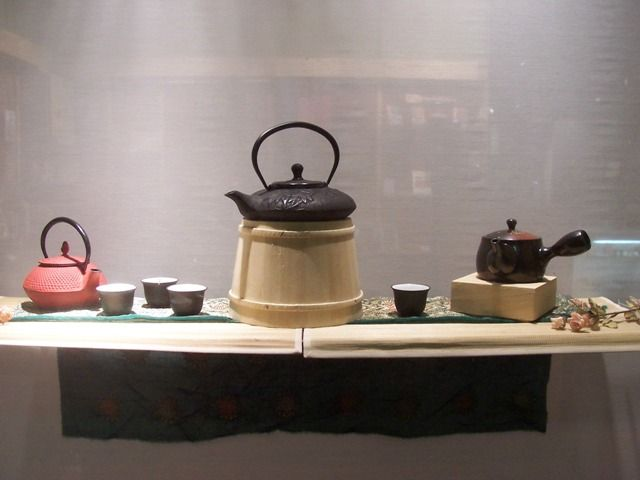 Notes on Tea: Teapot displays and exhibitions