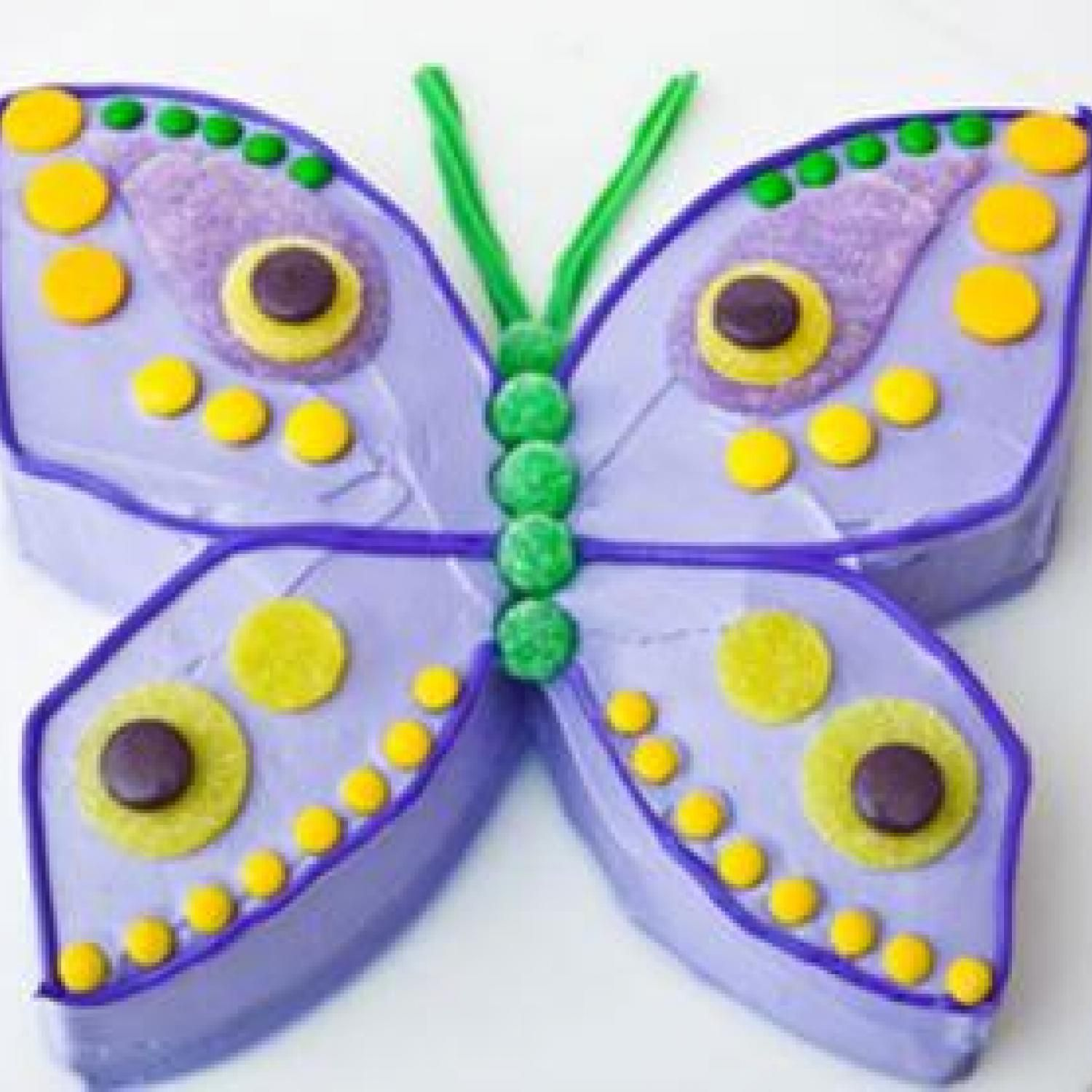 Butterfly Birthday Cake Design - Parenting