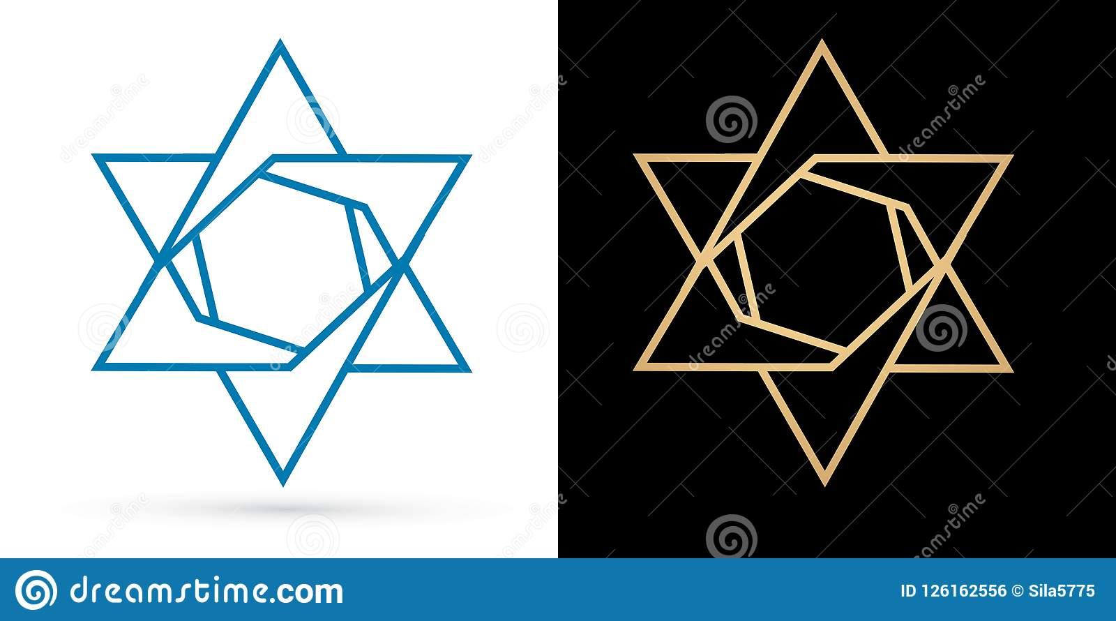 Modern Jewish Star Logos Google Search Jewish Logo Jewish Star Star Logo