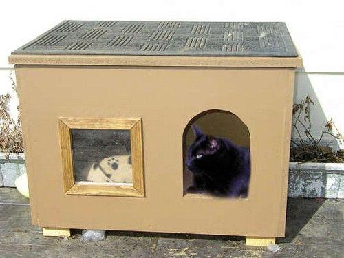 Pin De 099201131 Feipe En домики для кошек Casa Del Gato Gatos Camas De Gato